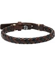 Fossil JA5932716 Mens vintage tillfällig armband