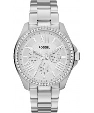 Fossil AM4481 Damer cecile silver stål chronographklockan
