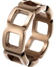 Edblad 83165 Damer gör steg guldpläterad ring - storlek n (s)