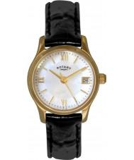 Rotary LS02368-41 Damer klockor eco klänning guldpläterade klockan