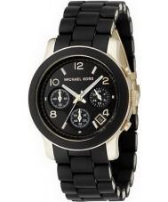 Michael Kors MK5191 Damer bana svart chronographklockan