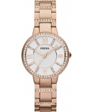 Fossil ES3284 Ladies Virginia ökade guld stål watch