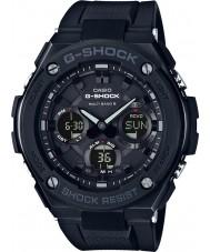 Casio GST-W100G-1BER Mens g-shock radiostyrd sol svart klocka