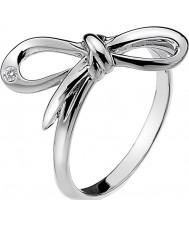Hot Diamonds DR120-N Damer frodas silver tonen ring - storlek n