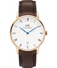 Daniel Wellington DW00100094 Dapper 34mm Bristol ökade guld watch
