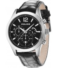 Police 12757JS-02 Man Ohio svart läderrem klocka