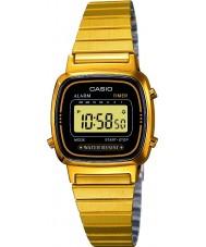 Casio LA670WEGA-1EF Samling guldpläterad digital klocka
