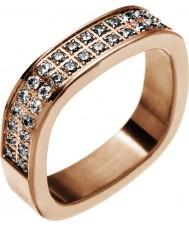 Edblad 83186 Damer jolie steg guldpläterad ring - storlek L (xs)