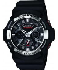 Casio GA-200-1AER Mens g-shock världstid svart chronographklockan