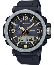 Casio PRG-600-1ER Mens pro trek soldrivna svart digital klocka