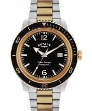 Rotary GB02695-04 Mens tidmätare ocean avenger ros stål watch