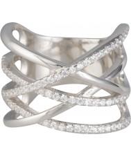 FROST by NOA 145023-52 Damer silverring med cubic zirconia - storlek L