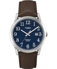 Timex TW2P75900 Mens lätt läsare blå brun klocka