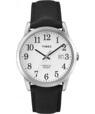 Timex TW2P75600 Mens lätt läsare svart läderrem klocka