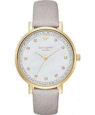 Kate Spade New York KSW1131 Damer Monterey grå läderrem watch