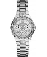 Guess W0111L1 Ladies viva silver stål armband klocka