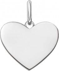 Thomas Sabo LBPE0002-001-12 Damer älskar bro 925 sterling silver hängsmycke