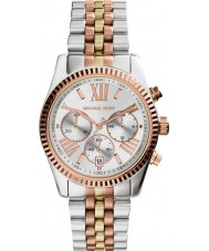 Michael Kors MK5735 Ladies lexington två ton stål chronographklockan