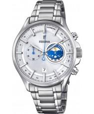 Festina F6852-1 Mens silver chronographklockan