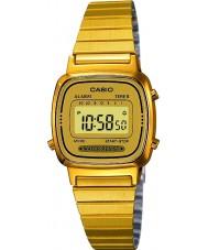 Casio LA670WEGA-9EF Samling guldpläterade klockan