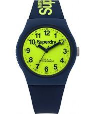 Superdry SYG164UN Urban marinblå silikonet fäster watch