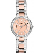 Fossil ES3405 Ladies Virginia steg guld och silver watch