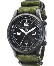 Elliot Brown 202-004-N01 Mens Canford grönt tyg rem klocka
