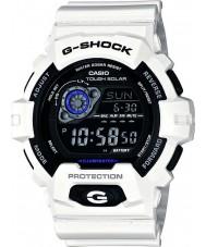 Casio GR-8900A-7ER Mens g-shock världstid vit soldriven klocka