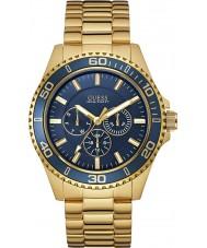 Guess W0172G5 Mens chaser guldpläterad armband klocka
