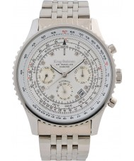 Krug-Baumen 600301DSA Mens air traveler diamant automatisk klocka