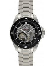 Rotary AGB90078-A-04 Mens Aquaspeed silver stålskelett automatisk klocka