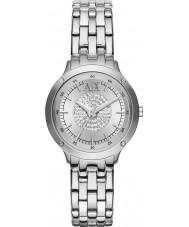 Armani Exchange AX5415 Damer sten set silver armband dress watch