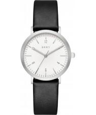 DKNY NY2506 Damer Minetta svart läder Strap Watch