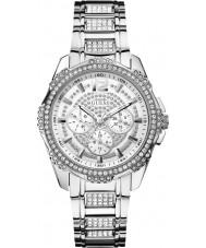 Guess W0286L1 Damer intrepid två silver stål armband klock