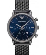 Emporio Armani AR1979 Mens klassisk rödgods chronographklockan