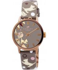 Radley RY2068 Damer pungdjur cirkus print läderrem watch