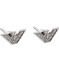 Emporio Armani EG3027040 Damer sterling silver tonen örhängen