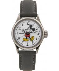 Disney by Ingersoll 25570 Damer klassiska Musse Pigg grå nubuck Strap Watch