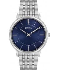 Bulova 96A188 Mens supertunna silver stål armband klocka