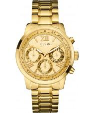 Guess W0330L1 Damer soluppgång guldpläterad armband klocka