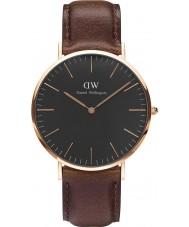 Daniel Wellington DW00100125 Klassiskt svart Bristol 40mm klocka