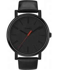 Timex T2N794 Mens svart klassisk rund klocka