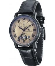 Thomas Earnshaw ES-8042-06 Mens westminster svart läderrem klocka