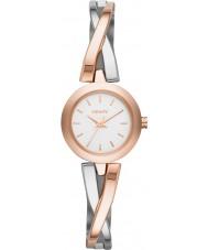 DKNY NY2172 Damer övergångsställe steg guld silver watch