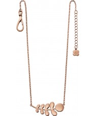 Orla Kiely N4014 Damer buddy 18ct steg guld stem mönster halsband