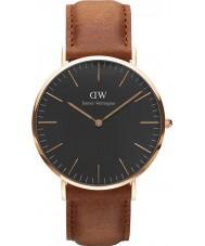 Daniel Wellington DW00100126 Klassiskt svart durham 40mm klocka