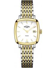 Rotary LB05306-01 Damer klockor windsor två ton guldpläterade klockan