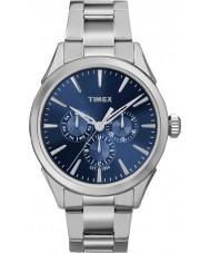 Timex TW2P96900 Mens Chesapeake silver stål armband klocka