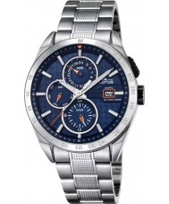 Lotus L18244-5 Mens silver multifunktions watch