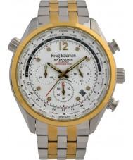 Krug-Baumen 100107DM Mens air explorer diamant begränsad upplaga klocka